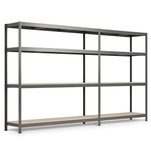 Stocker: boltless chipboard panels modular shelving