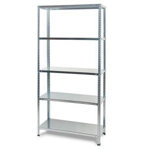 Mega, metal bolted kit shelving