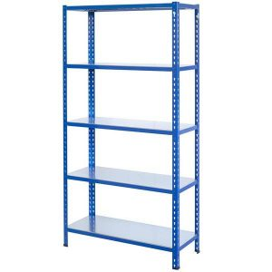 Boltless metal kit shelving, Versatile