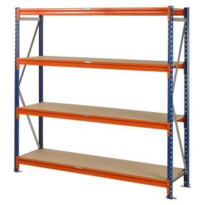 Longspan shelving for picking