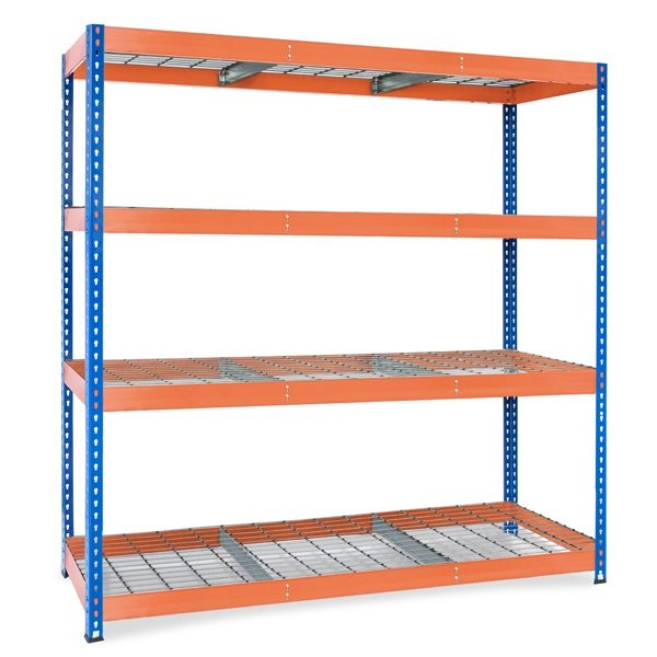 Wire Stocker blue&orange