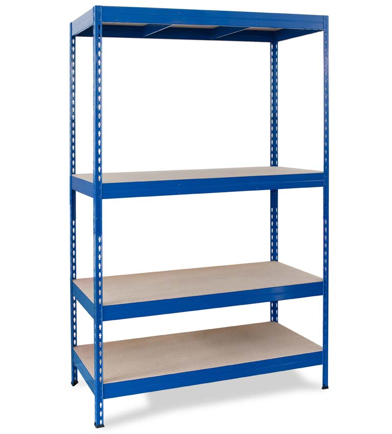 Stabil classic shelving in blue