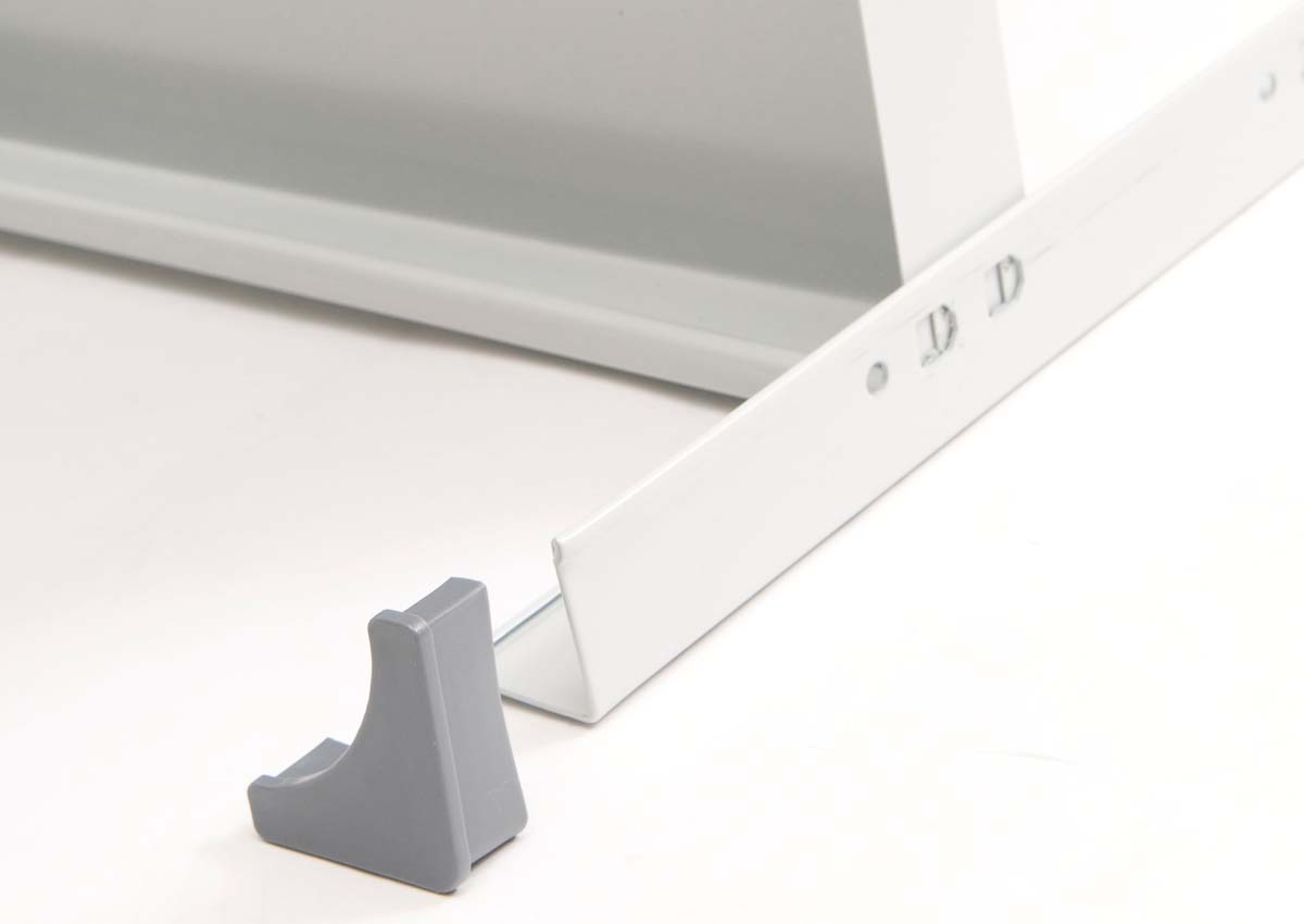 AR Premium shelving feet detail