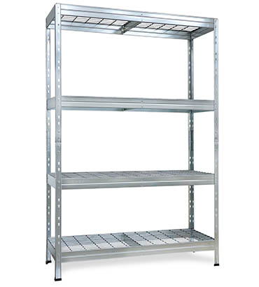 Wire Rivet shelving
