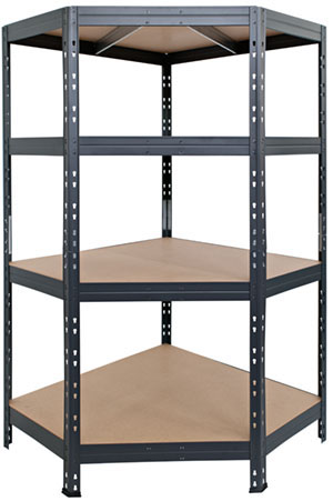 Corner Rivet shelving