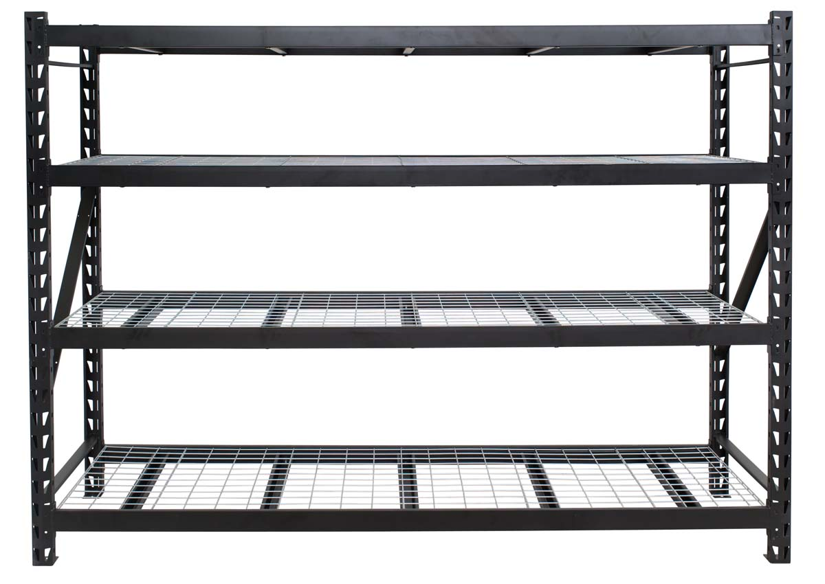 Bullrack metal shelving
