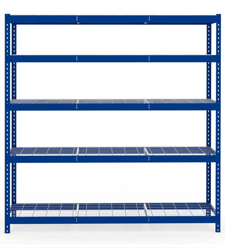 Stocker wire metal shelving