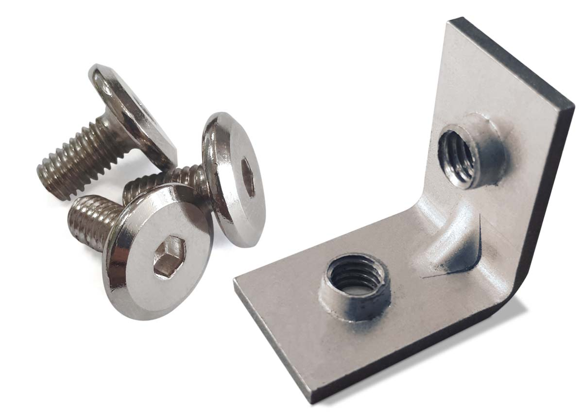 Office easy shelving screws