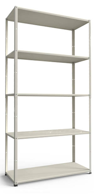 Home easy shelving 195x100x40cm